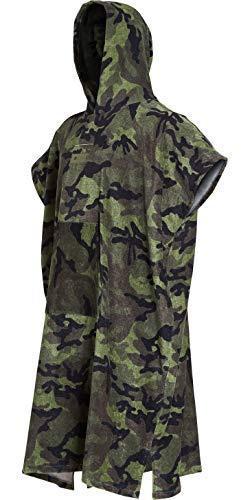 Billabong Mens Hooded Changing Robe/Poncho Camo N4BR01