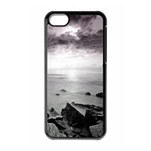 Iphone 5C Case, sunset on lake Case for Iphone 5C Black