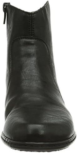 Rieker Y0761 00 Damen Halbschaft Stiefel: : Schuhe