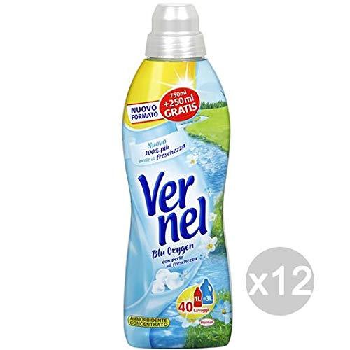 Vernel Set Suavizante 1 l Conc Azul clásico detergente Lavadora y ...