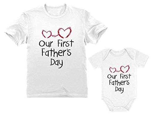 Pack First S 4 100 Infant Best Tall Bulk Clothing Suit The Baddies 6m Heart Shorts Hearts Sons Teea Firsts Babies Toee Times Dad Tee Tshirt Or