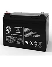Pride Mobility Hurricane PMV500 12V 35Ah Mobility Scooter Battery - This is an AJC Brand Replacement