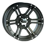 ITP SS212 Wheel - 14x6 - 4+2 Offset - 4/110 - Black , Bolt Pattern: 4/110, Rim Offset: 4+2, Wheel Rim Size: 14x6, Color: Black, Position: Front 14SS400BX