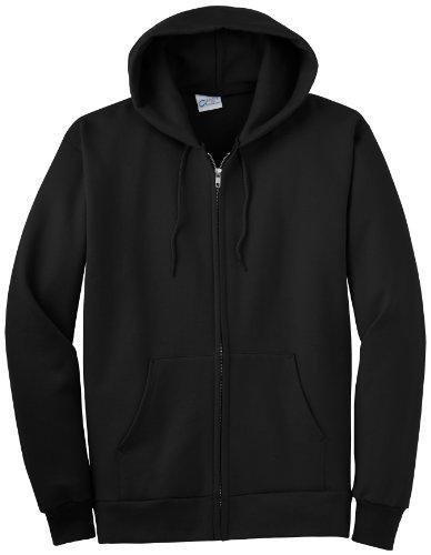 P&C Extra Tall Full Zip Heavy Blend Fleece Hooded Sweatshirt - Hoody / Hoodie