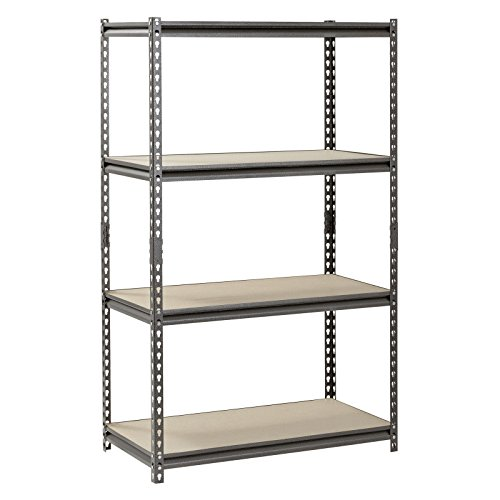Muscle Rack 4-Shelf Steel Shelving, 18