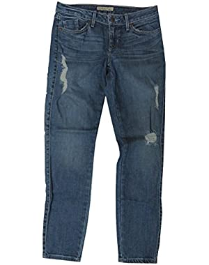 Guess Womens Adieu Wash Skinny Denim Blue Jeans, 29