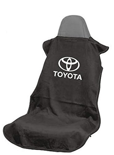 Logo Car Seat Towel (Seat Armour SA100TOYB Black 'Toyota' Seat Protector Towel)