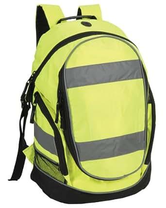 Amarillo Hi-Vis Mochila/Bolsa para raquetas de tenis de trabajo - apto para de primeros auxilios, paramédico, ambulancia, Medic WL sports