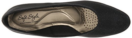 Soft Style by Hush Puppies Angel II Fibra sintética Tacones Black Cosmic