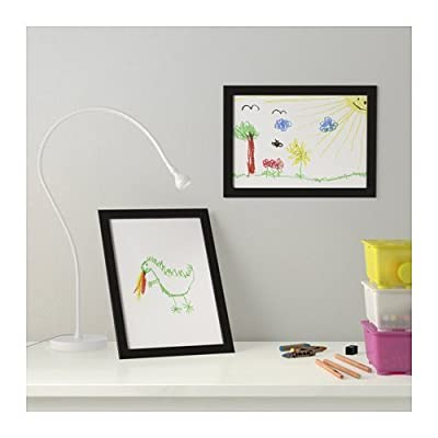 """Ikea Frame Photo Certificate Picture 8.5 X 11"""" Black (2 Pack)"""