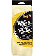 """Meguiar's Water Magnet Microfiber Towel 22"""" x 30"""", Absorbs 2X More Water, Reduce Drying Time for Cars, Motorcycle, Trucks & Boats"""