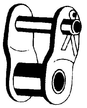 Daido CORPORATION THL41-4PK Offset Link