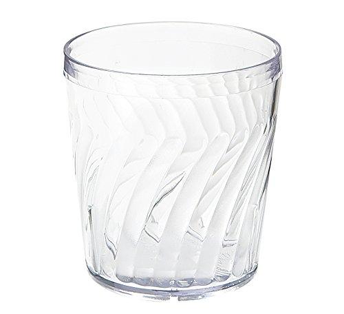 9 oz. Clear Tahiti Tumblers by, SAN Plastic GET 2209-1-CL-EC (Pack of - Tumbler Tahiti Beverage