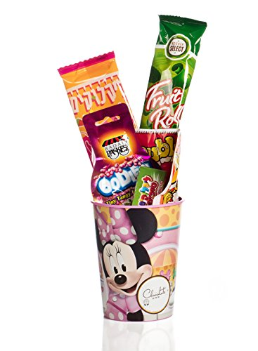 The Chocolate Bar Mishloach Manot - Perfect Purim Shalach Manot for Kids - Purim Gift Basket (Minnie Mouse (Purim Characters)