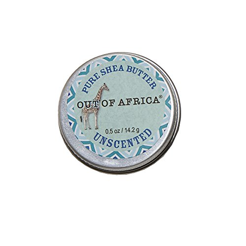 Out of Africa Unscented Shea Butter, 2 Ounce Tin (Packaging may vary)