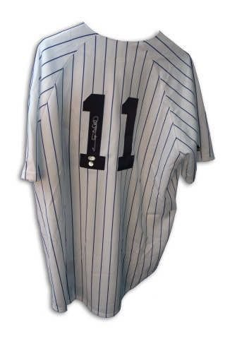 Sheffield Autographed Gary Jersey (Autographed Gary Sheffield New York Yankees Gray Majestic Jersey - 100% Authentic Autograph - Genuine MLB Signature - Perfect Sports Gift)