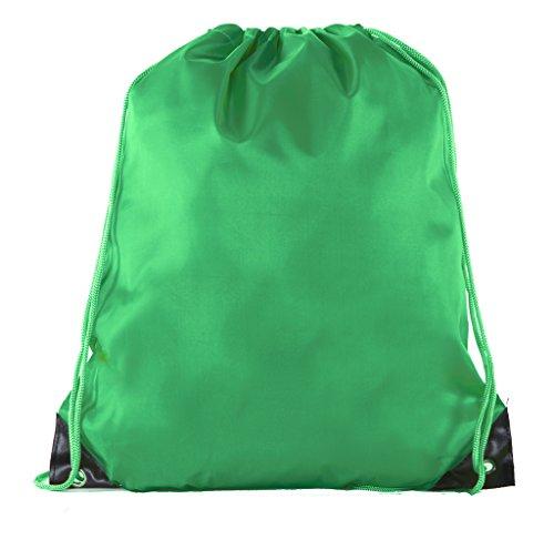 Mato & Hash Basic Drawstring Tote Cinch Sack Promotional Backpack Bag   15 Colors   1PK-100PK Available