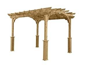 Suncast PA1012 Wood Pergola, 10' by 12'