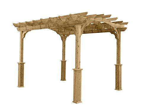 Suncast PA1012 Wood Pergola, 10' by 12' by Suncast