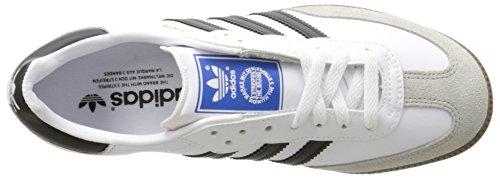 Adidas Heren Samba-voetbal Geïnspireerde Sneaker Wit / Zwart / Gum