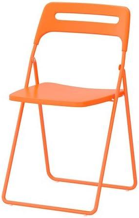 Ikea Nisse – Silla Plegable, Naranja: Amazon.es: Hogar