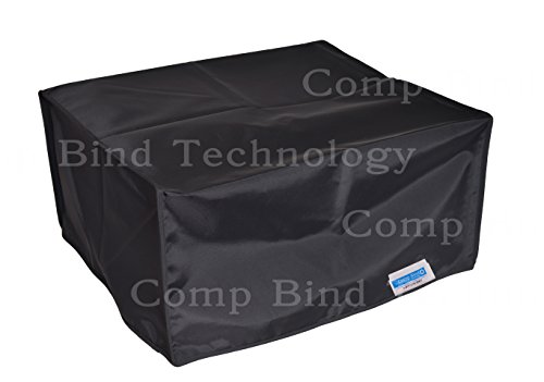 Comp Bind Technology PRINTER DUST COVER FOR HP LASERJET 4350n PRINTER BLACK NYLON ANTI-STATIC DUST COVER SIZE 16.5''W x 17.8''D x 14.8''H