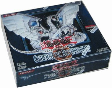 Yugioh Card Game - Cybernetic Revolution 1ST EDITION Booster Box - 24P9C