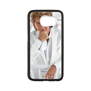 Samsung Galaxy S6 Cell Phone Black Rod Stewart 218y-107223