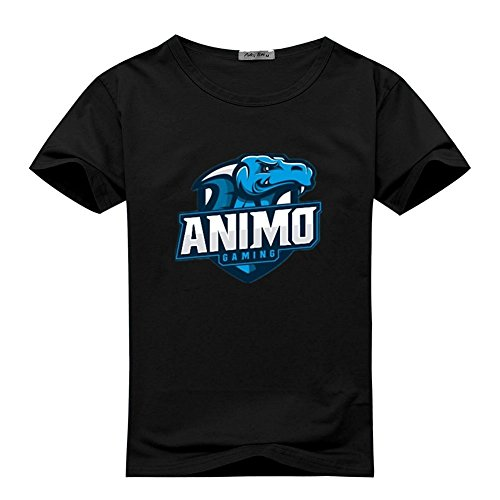 Animosity T-shirt (JessicaDowdy Womens T-shirts Animosity Gaming Black Size L)