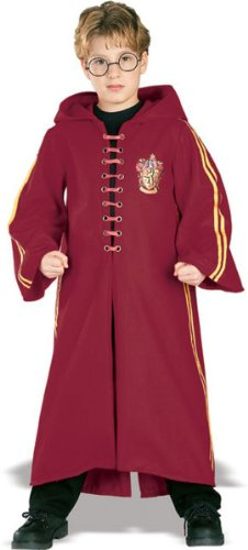 Deluxe Quidditch Robe Costume - Small (Harry Potter Quidditch Costume Kit)