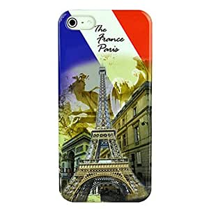 ZCL Retro Eiffel Tower Design Hard Protective Case Skin Cover for iPhone 5