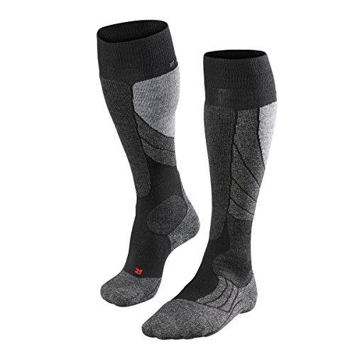 FALKE Herren Socke SK 2 16420 , black-mix 3010, 42-43
