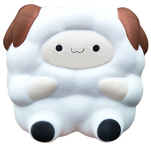 ising Squishy Sheep Kawaii Squishy Charm Animal Toy For Collection Pressure Reducing Toy (Sheep Collection)