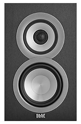 ELAC Uni-fi UB5 Slim Bookshelf Speaker (Finshed Satin White Cabinet, Pair)