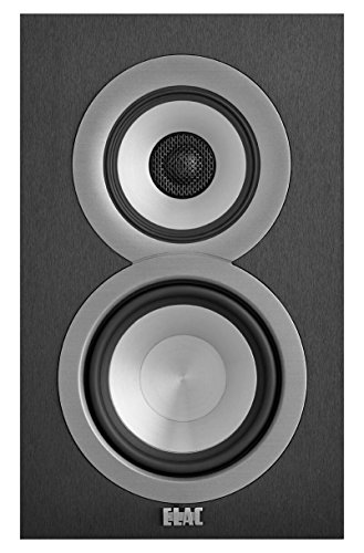 ELAC Uni-fi UB5 Bookshelf Speaker (Black, Pair) by Elac