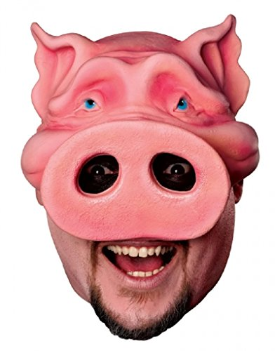Adult Pig Boy Chinless Mask (Adult size Pig Boy Chinless Mask)