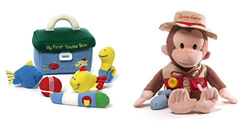 Baby's First Fishing Tackle Box and Curious George Fisherman 16