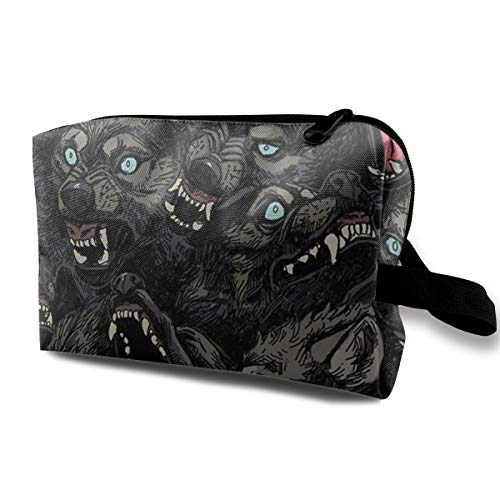 Wolf Pack Pattern Travel Toiletry Bag - Multifunction
