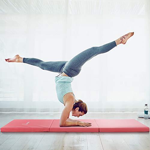 WolfWise Gymnastic Exercise Tri Fold Tumbling