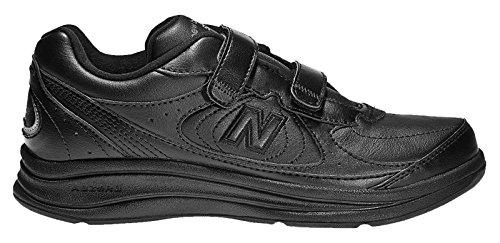 思春期輝く常習的(ニューバランス) New Balance 靴?シューズ レディースウォーキングシューズ New Balance 577 Black ブラック US 9.5 (26.5cm)