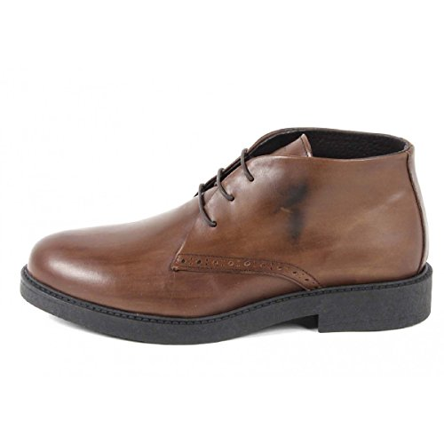 Versace 19.69 Abbigliamento Sportivo Srl Milano Italia Mens Ankle Boot V5156 DELAVE' WHISKY