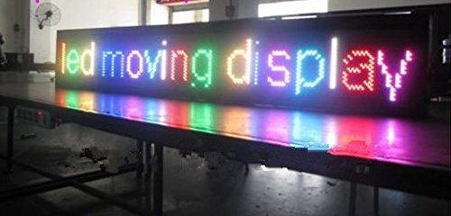 GOWE Steigung: 12 mm/hot led Scrollen Türschild info billboard/ph12mm Farbiges led-RGB Display/16BY128/Nachricht led Leuchtschild 1R1G1B /