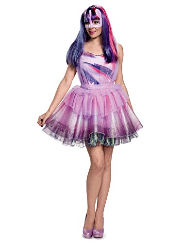 Disguise Women's Twilight Sparkle Movie Deluxe Adult Costume, Purple, Medium -