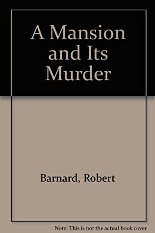 book cover of A Mansion and its Murder