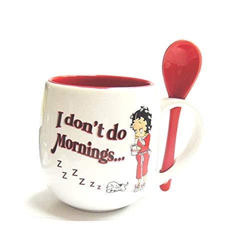 (Betty Boop Mug With Spoon