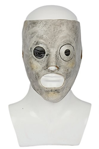 Corey Taylor Slipknot Mask (Slipknot Mask Latex Corey Taylor Halloween Cosplay Costume Prop Adults Xcoser)