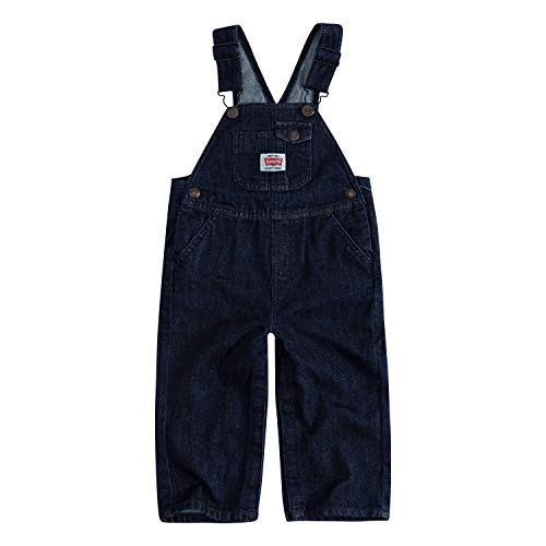 - Levi's Baby Boys Denim Shortalls, Rinse, 18M