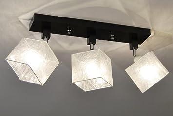Designer Decken Leuchte Lampe Retro Spot Strahler Salon Bar Theke E27 Power LED Athen 16