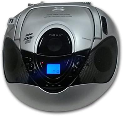 RAD. CD NEVIR NVR-474 U Plata USB: Nevir: Amazon.es: Electrónica