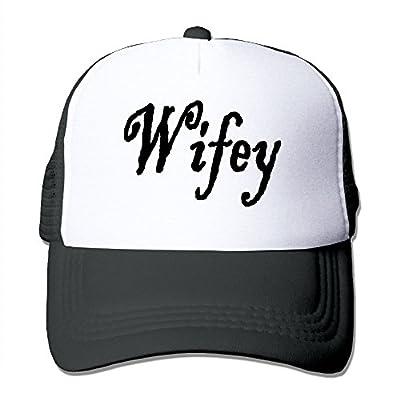 RUN_RUNNING& Wifey-2 Men's Adjustable Mesh Cricket Cap Hat
